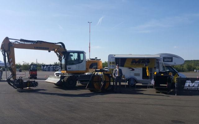 News - EuroSpeedway Lausitz: Pole Position für MB-Anbaugeräte