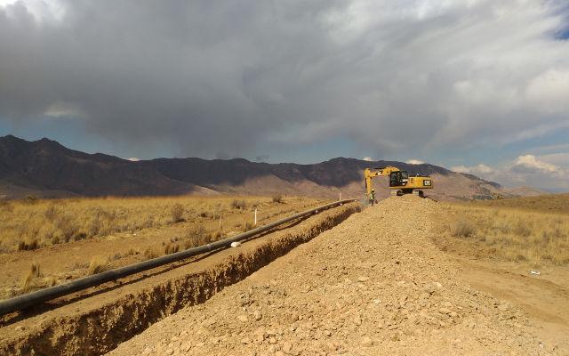 OBRAS PARA LA CONSTRUCCIÓN DE OLEODUCTOS Y GASODUCTOS