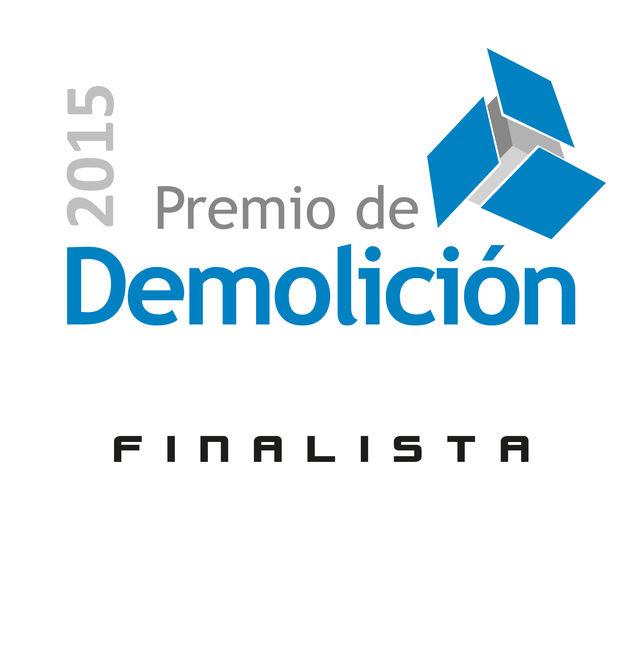 ÚLTIMAS NOTICIAS - MB CRUSHER FINALISTA AL PREMIO DE DEMOLICIÓN 2015