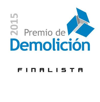 MB CRUSHER FINALISTA AL PREMIO DE DEMOLICIÓN 2015
