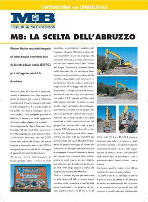 MB la scelta dell'Abruzzo
