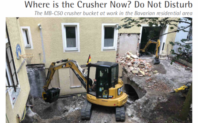 Where is the Crusher Now? Do Not Disturb