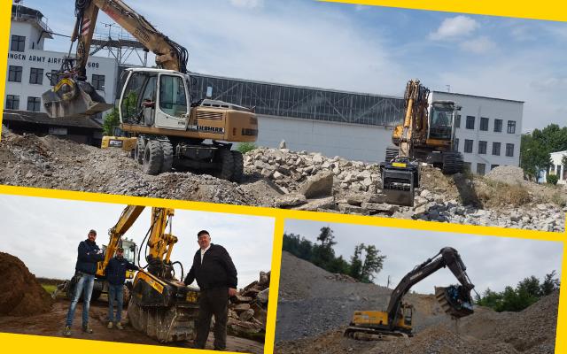 News - Sur les chantiers et toujours en forme , malgré les années