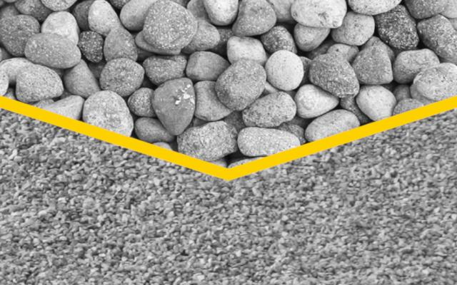 Erfahren Sie, wie sie mit MB CRUSHER Flusssteine brechen können