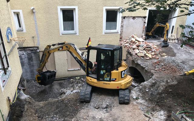 En Allemagne, MB Crusher fait dans la démolition intérieure
