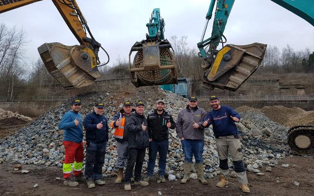 News -  Les outils mb crusher au service de la requalification d'une ancienne friche industrielle à la frontière du Luxembourg