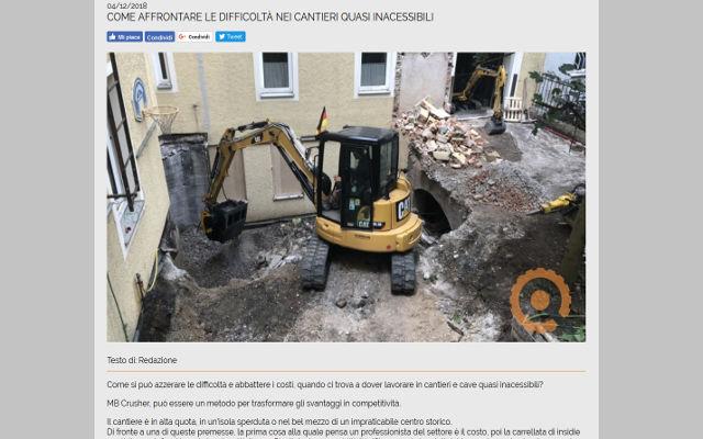 Come affrontare le difficoltà nei cantieri quasi inacessibili
