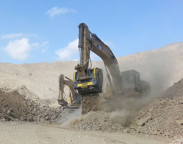 """""""With the MB  crusher bucket, we are doing the entire processing by ourselves. Moreover it's a very convenient machine for our business."""""""