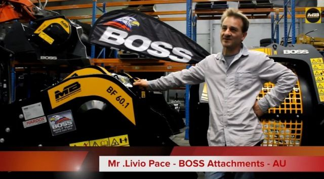 Video-interview with Mr. Livio Pace of Boss Attachments