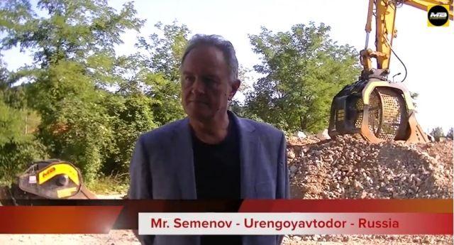 Видео-интервью с генеральным директором Уренгойавтодор