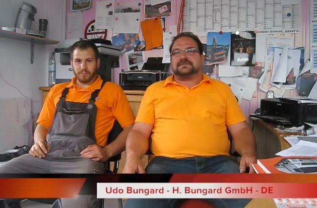 Interview mit unserem Kunden, dem Transportunternehmen Bungard GmbH