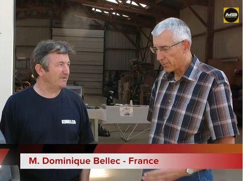 Interview de Monsieur Dominique BELLEC