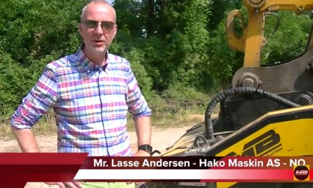 Video-interview with Mr. Lasse Andersen, MB dealer for Norwegian market