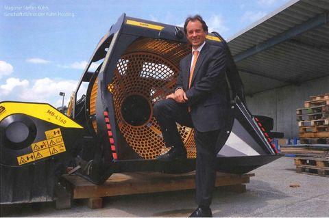 Interview mit Herr Stefan Kuhn von der Firma Kuhn Baumaschinen Gmbh