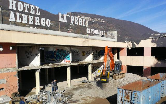 News - Déconstruction et concassage avec la solution MB en Suisse