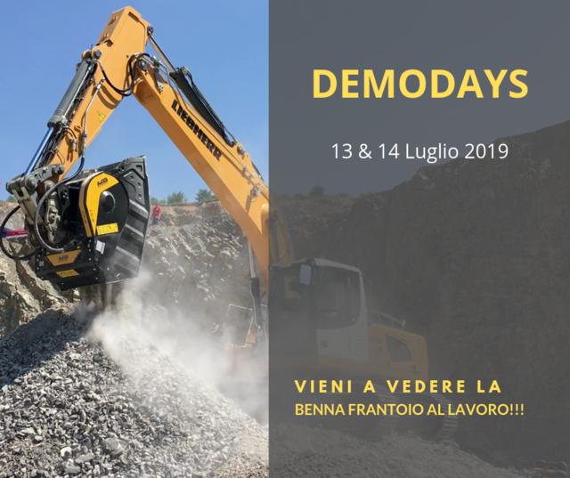 DEMODAYS - 13 e 14 Luglio 2019 - NERVESA della BATTAGLIA (TV)