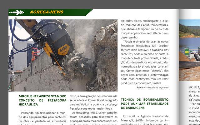 MB Crusher apresenta novo conceito de fresadora hidraulica