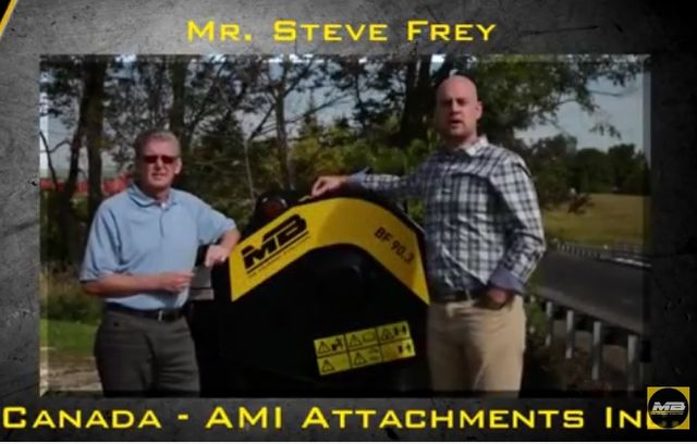 Our dealer Ami Attachments from Canada talk about MB