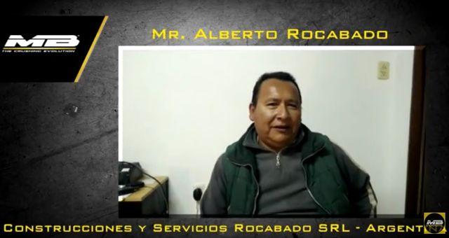 Demoliciones en Argentina con la BF90.3 - video entrevista