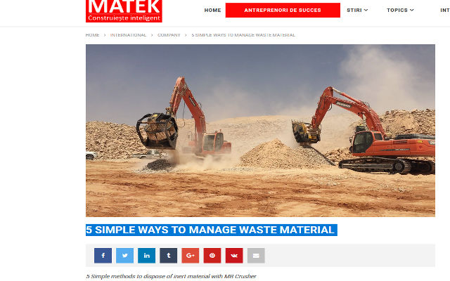 5 simple ways to manage waste material