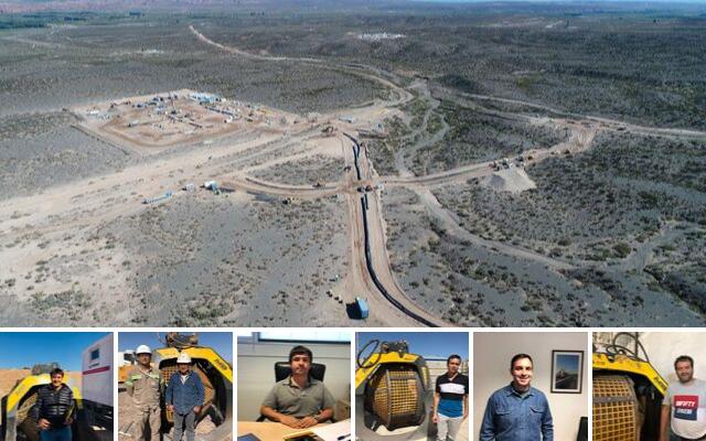 News - Viaggio nel cantiere di Vaca Muerta in Patagonia