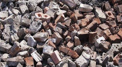 Materiales para la edificación o construcción - Residuos de demolición