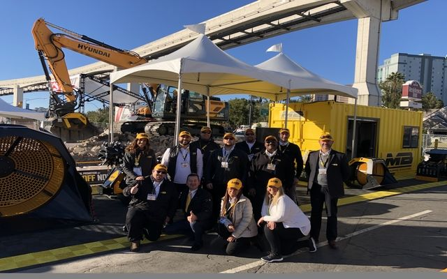 mb america at world of concrete