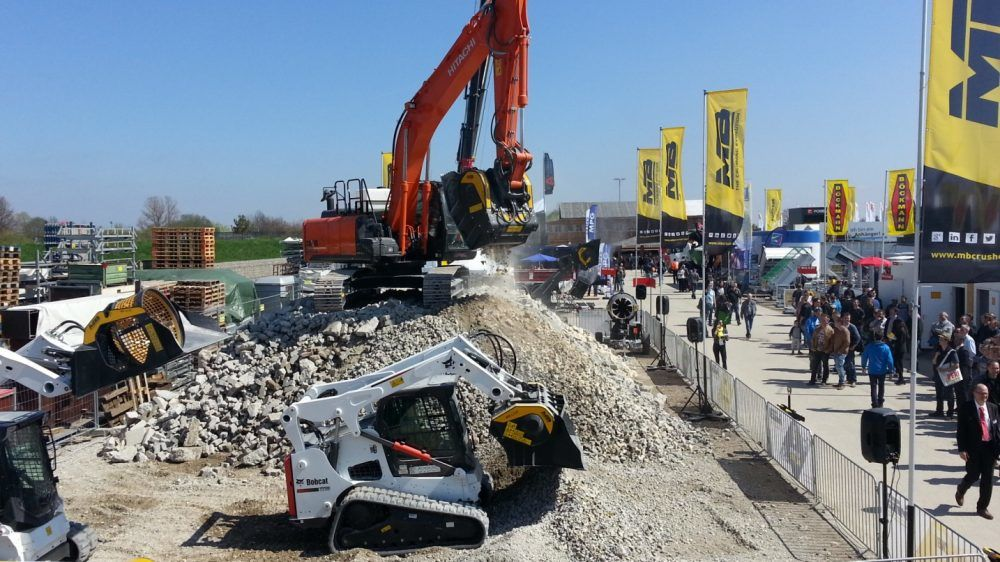 MB Crusher exhibitions
