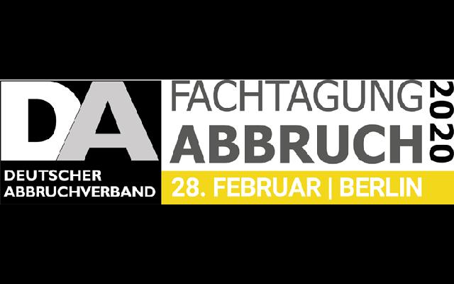 MB Crusher wird den jährlichen Termin auf der FACHTAGUNG ABBRUCH 2020 nicht verpassen!
