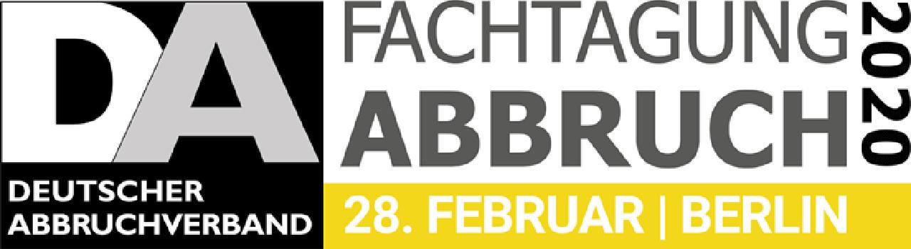 Deutscher Abbruch Fachtagung 2020