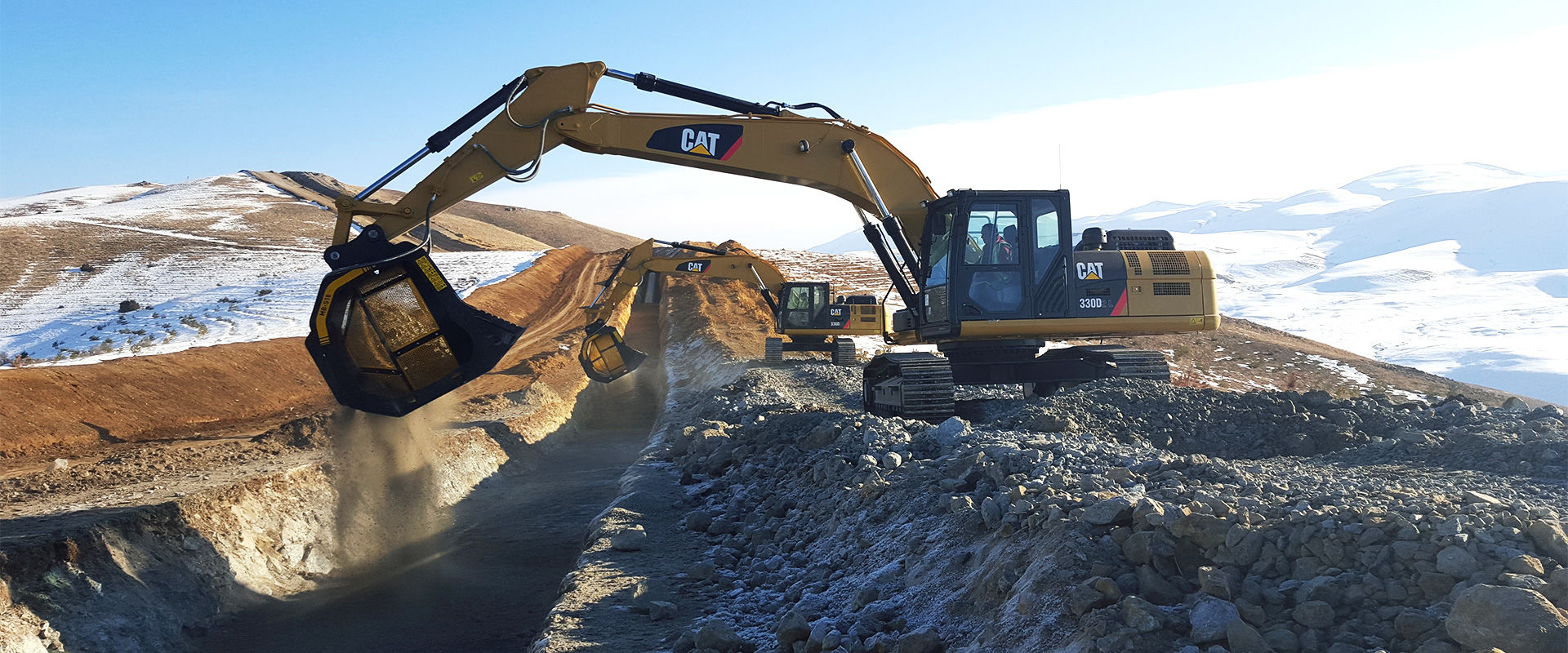 MB-S18 - Caterpillar - Turkey - Caucasus Pipeline Project