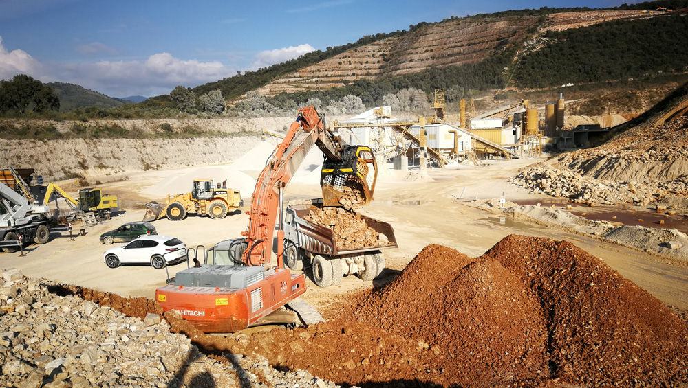 Turning quarry waste into a saleable product