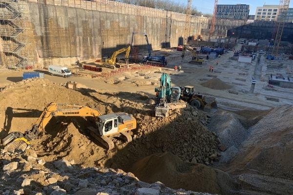 riciclo del materiale per costruzione fondamenti nuovi edifici Comunità Europea