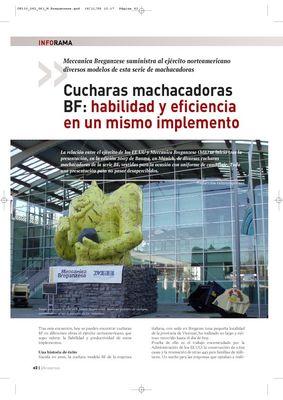 Cucharas machacadoras BF: habilidad y eficiencia en un mismo implemento