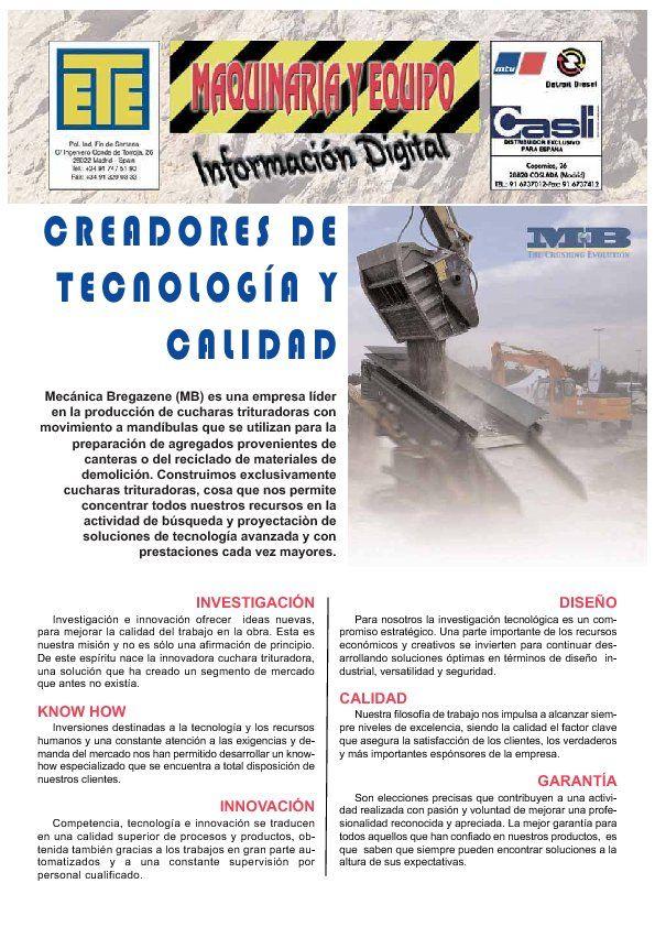 CREADORES DE TECNOLOGÍA Y CALIDAD