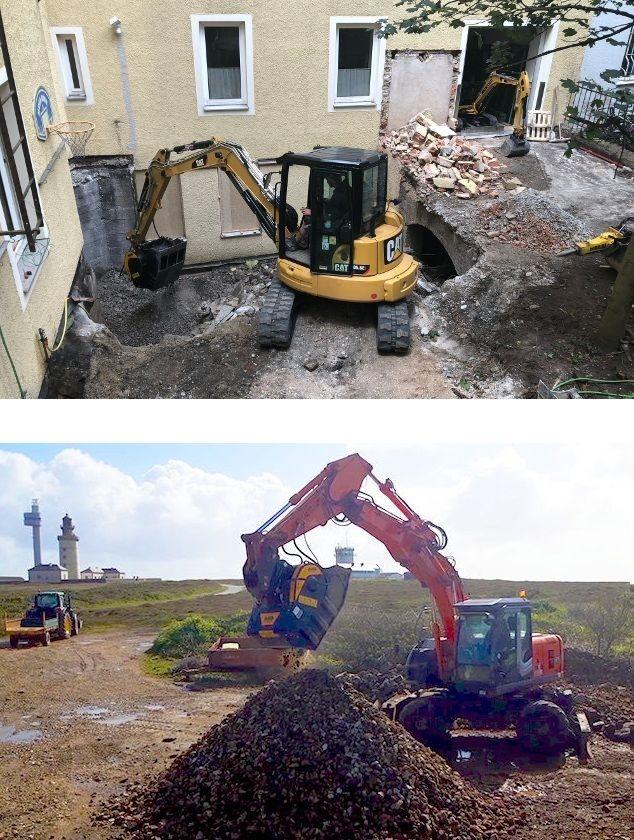 Se procurer du matériel sur site est une tâche qui nécessite une planification, en particulier lorsqu'il s'agit d'espaces restreints ou difficiles à atteindre.