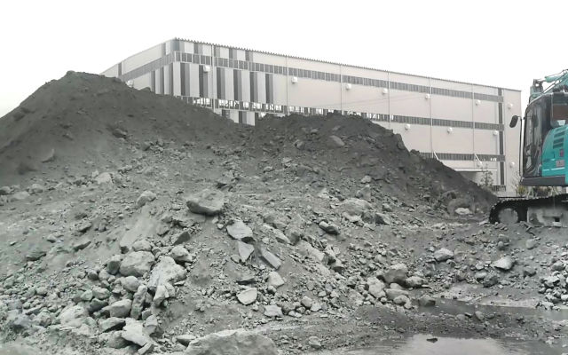 Coal power plant: the before during and after