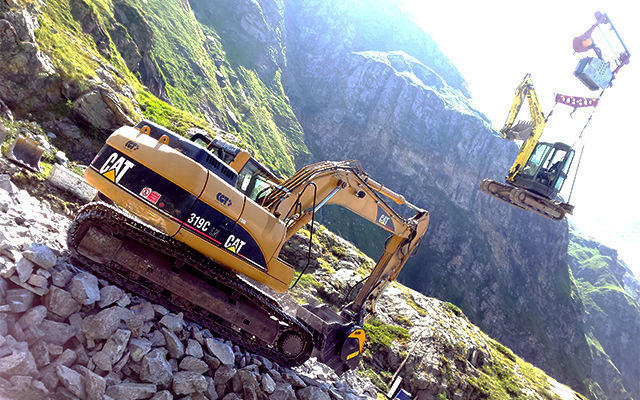 MB Crusher: Easier Access for Difficult, High Altitude Construction Sites