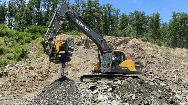 MB Crusher Units showed to have the perfect productivity