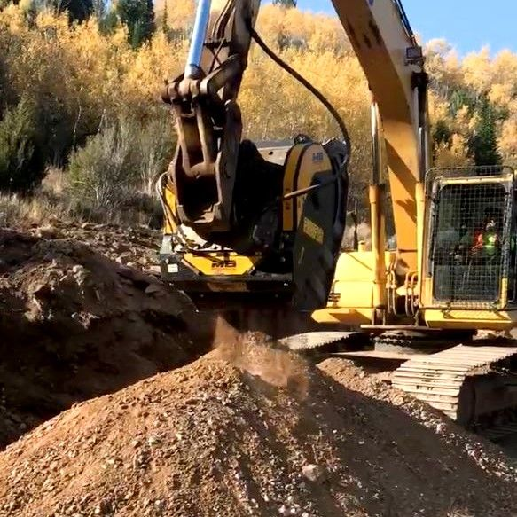 """We've been able to create aggregates for soft roads, and can bring the units in and out of the job site. Saves us time from having to build larger roads."""""""