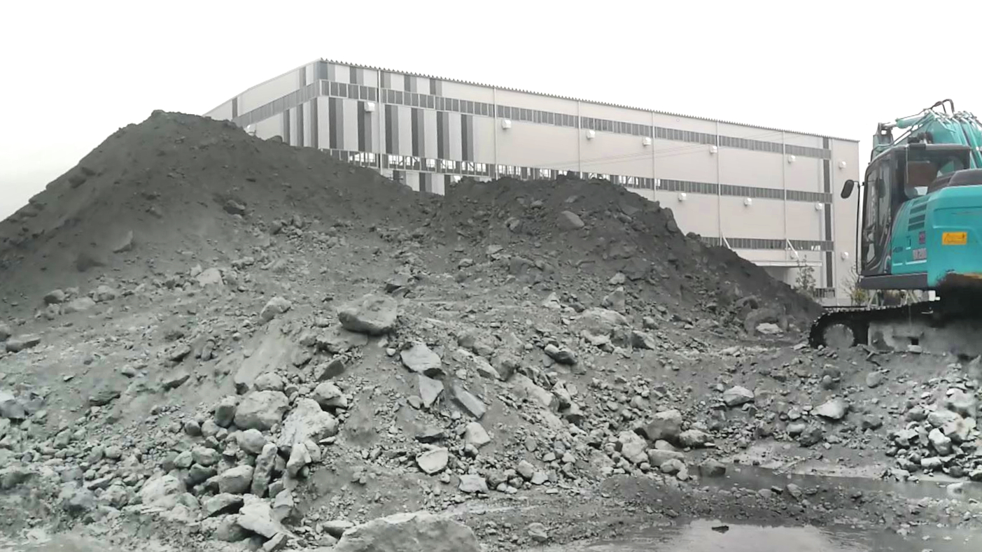 The before during and after a coal power plant