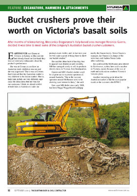 Bucket crushers prove their worth on Victoria's basalt soils
