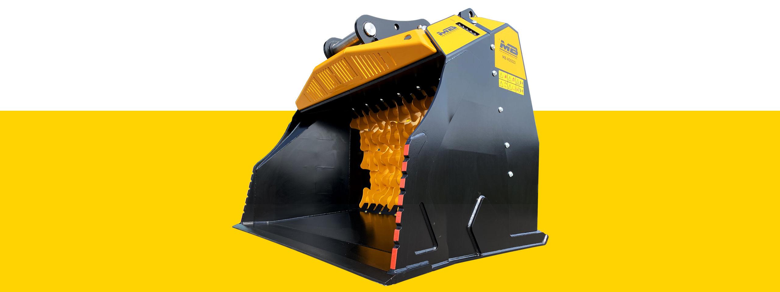 Nuova Benna Selezionatrice MB-HDS523 più potente!