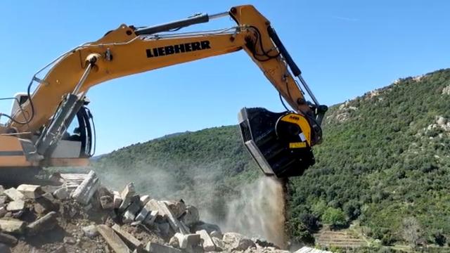 News - La Corse se refait une beauté avec MB CRUSHER