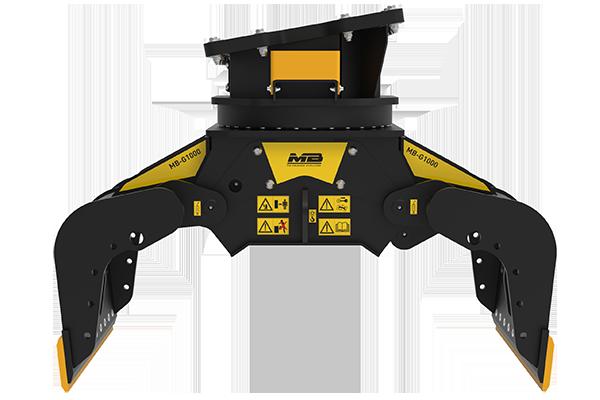 La nuova pinza MB-G1000: prestazione elevate.